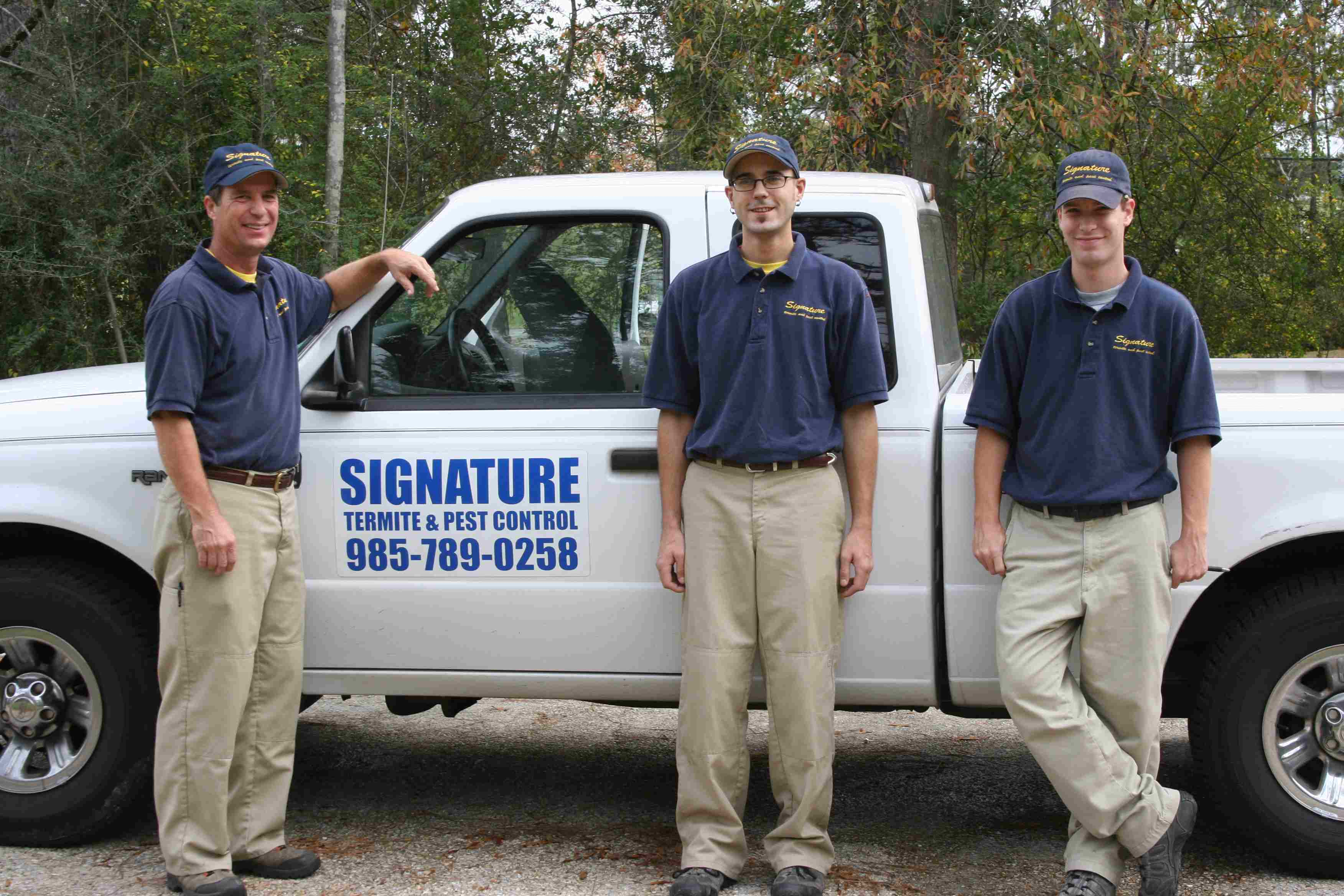 Signature Team With Service Truck
